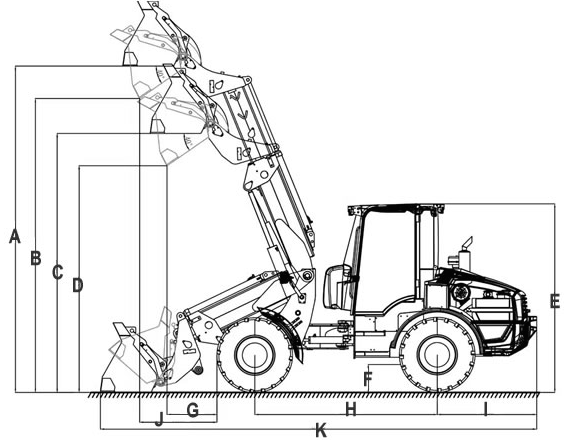 Heracles H580t Telescopic Loader